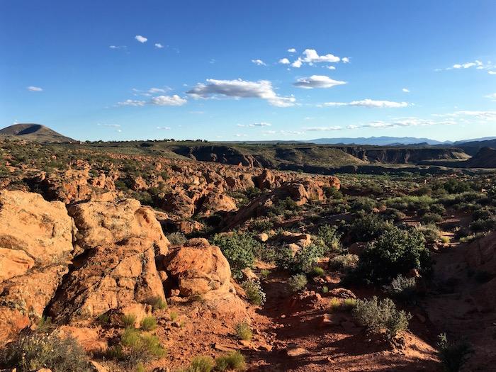 Red Cliffs Desert Reserve visit st geroge utah