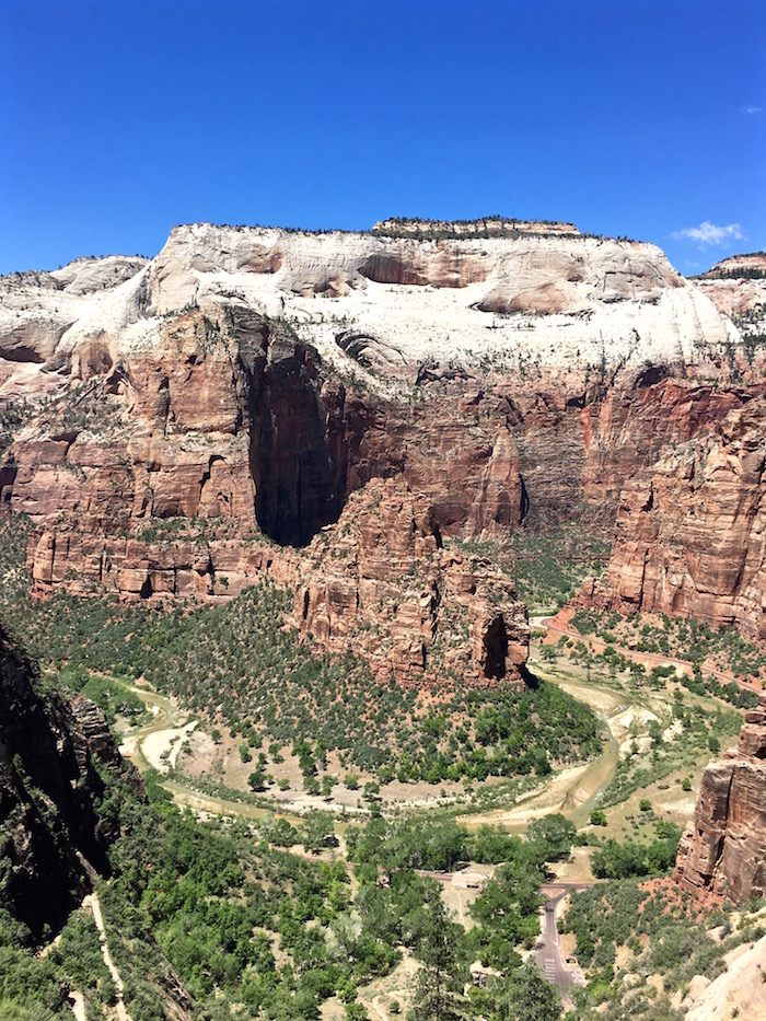 Observation Point Zion National Park hike