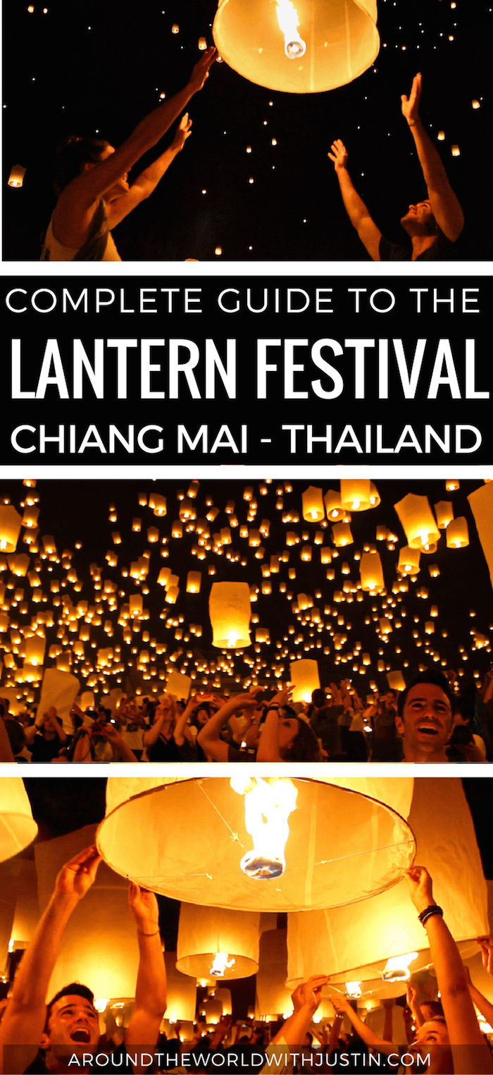 Thinking of traveling to Chiang Mai Thailand to experience the Lantern Festival? Here's a a complete guide to the famous Yi Peng Lantern Festival.