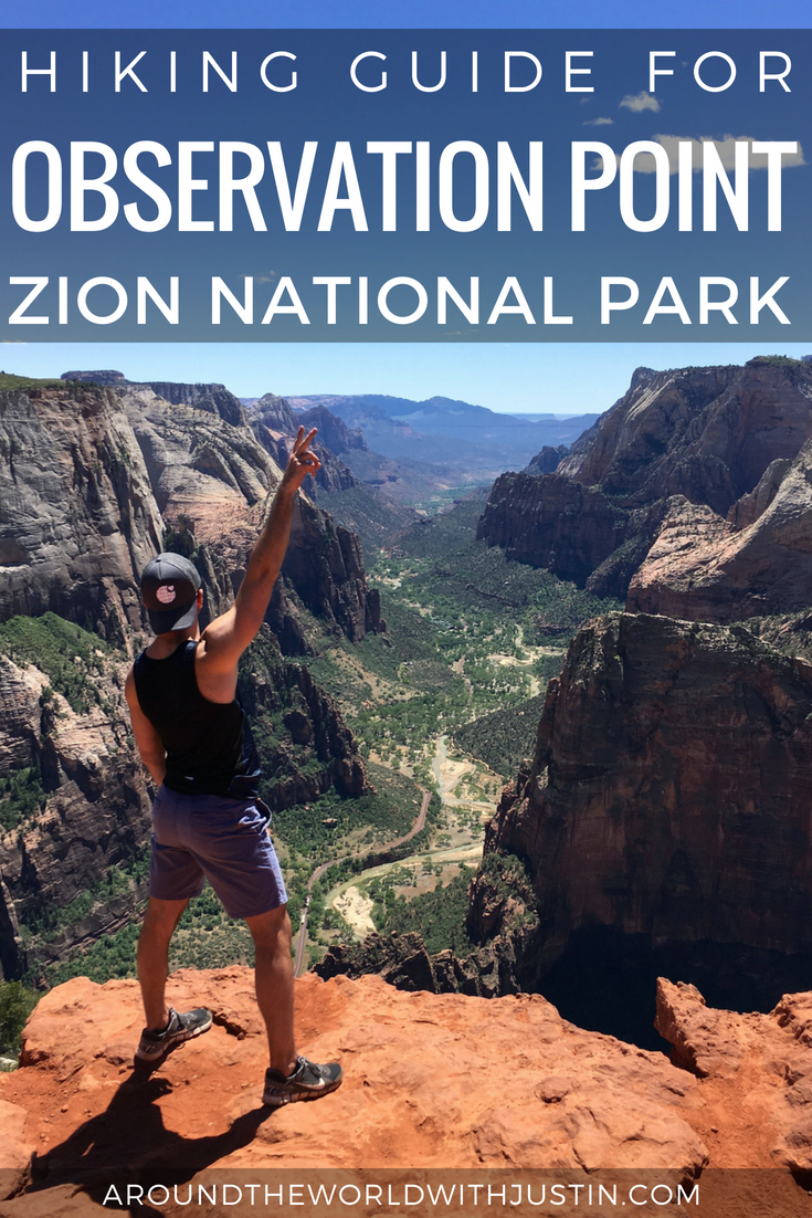 OBSERVATION POINT ZION NATIONAL PARK HIKING GUIDE