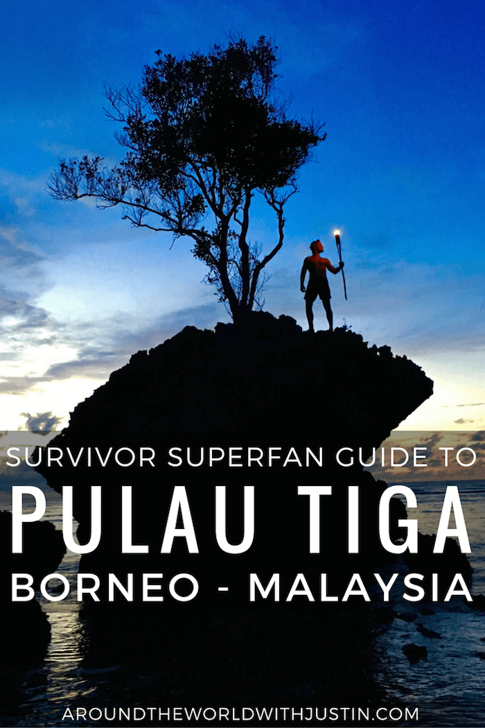 "Are you a Survivor superfan? Take a trip to Pulau Tiga Borneo aka ""Survivor Island"" where season 1 filmed."