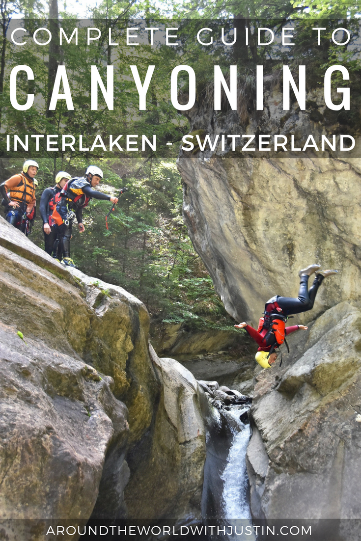 canyoning interlaken switzerland alpin raft outdoor adventures