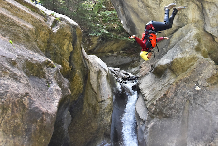 Canyoning Interlaken Switzerland Alpin Raft outdoor adventure