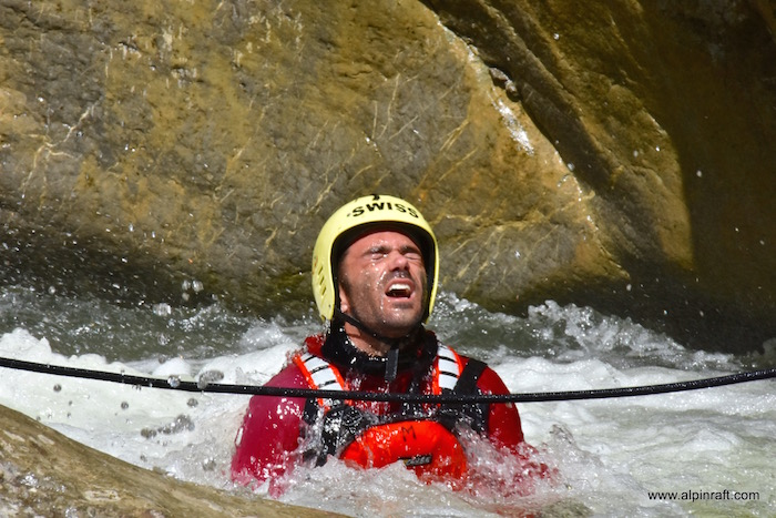 Canyoning Interlaken Switzerland Chli Schliere Alpin Raft outdoor adventure
