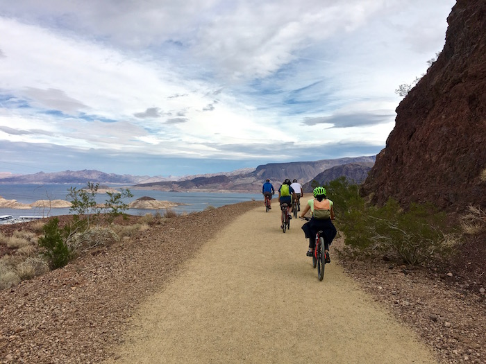 Best Things to do in Vegas Travel Nevada Justin Walter River Mountain Loop Trail
