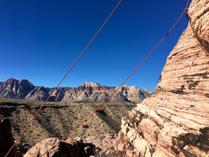 Best Things to do in Vegas Travel Nevada Justin Walter Red Rock Canyon rock climbing alpine institute