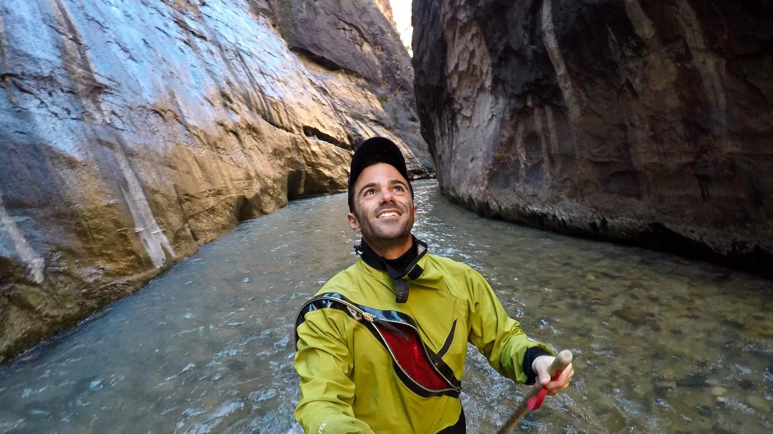 Zion National Park Narrows Hike Justin Walter