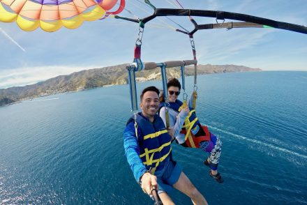 Things to do in Catalina Island parasailing