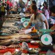 Filipino Market Kota Kibabalu Sabah Malaysia Borneo
