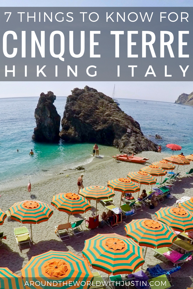 Cinque Terre Hiking Italy Travel Guide