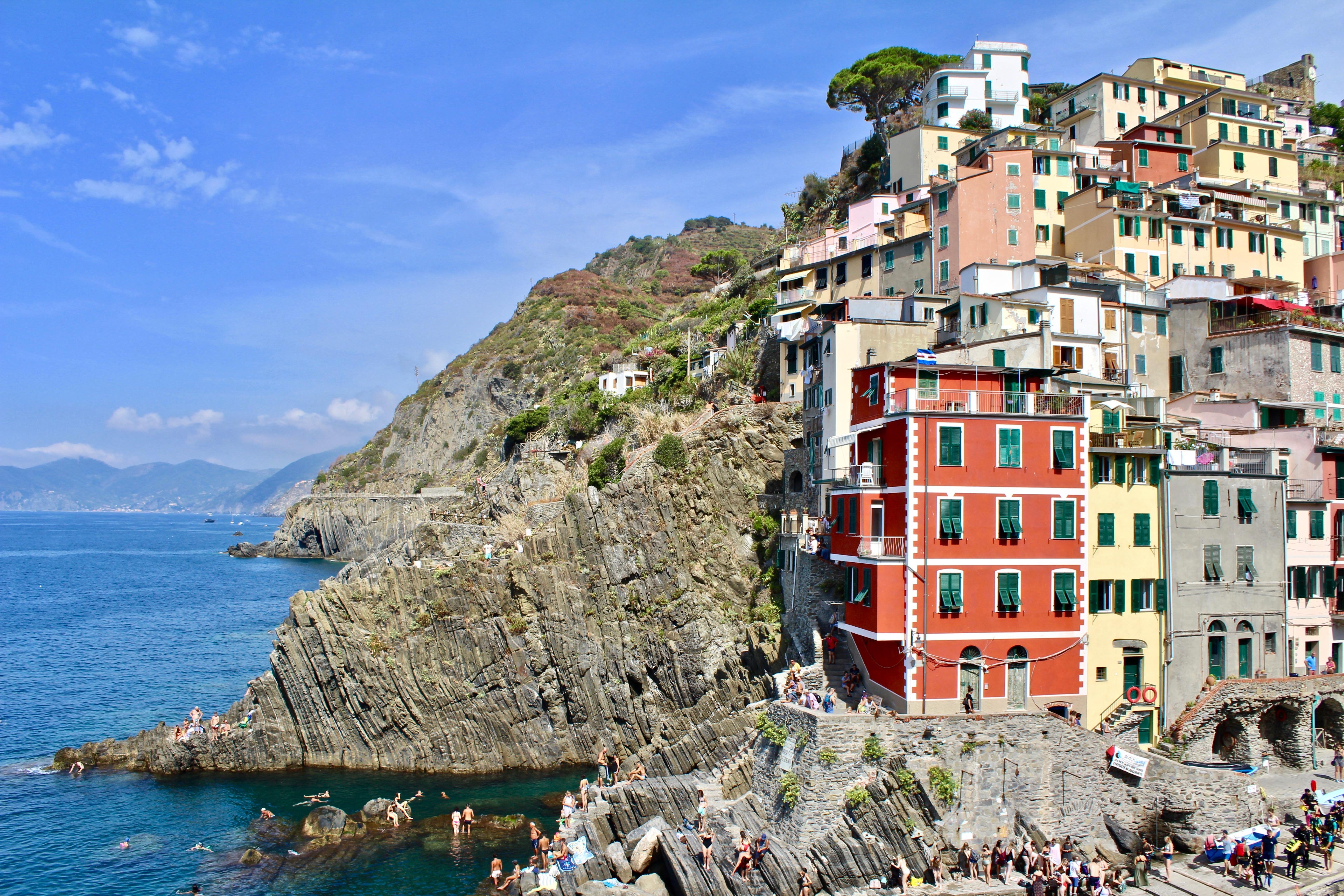 Cinque Terre Hiking Italy Travel Guide Riomaggiore