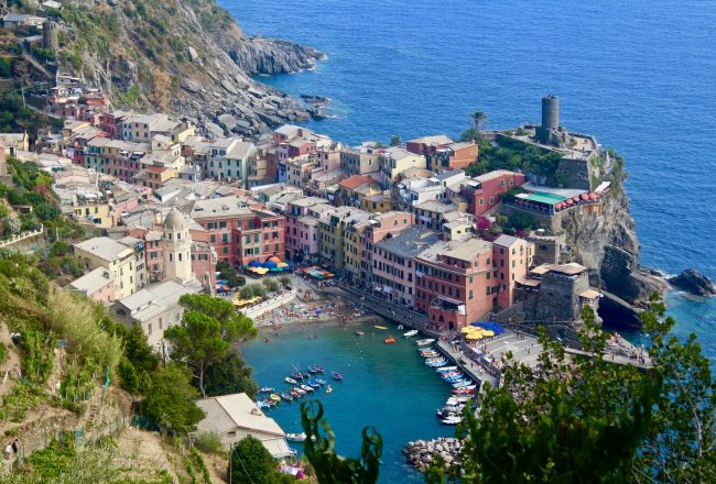 Cinque Terre Hiking Italy Travel Guide Vernazza Justin Walter