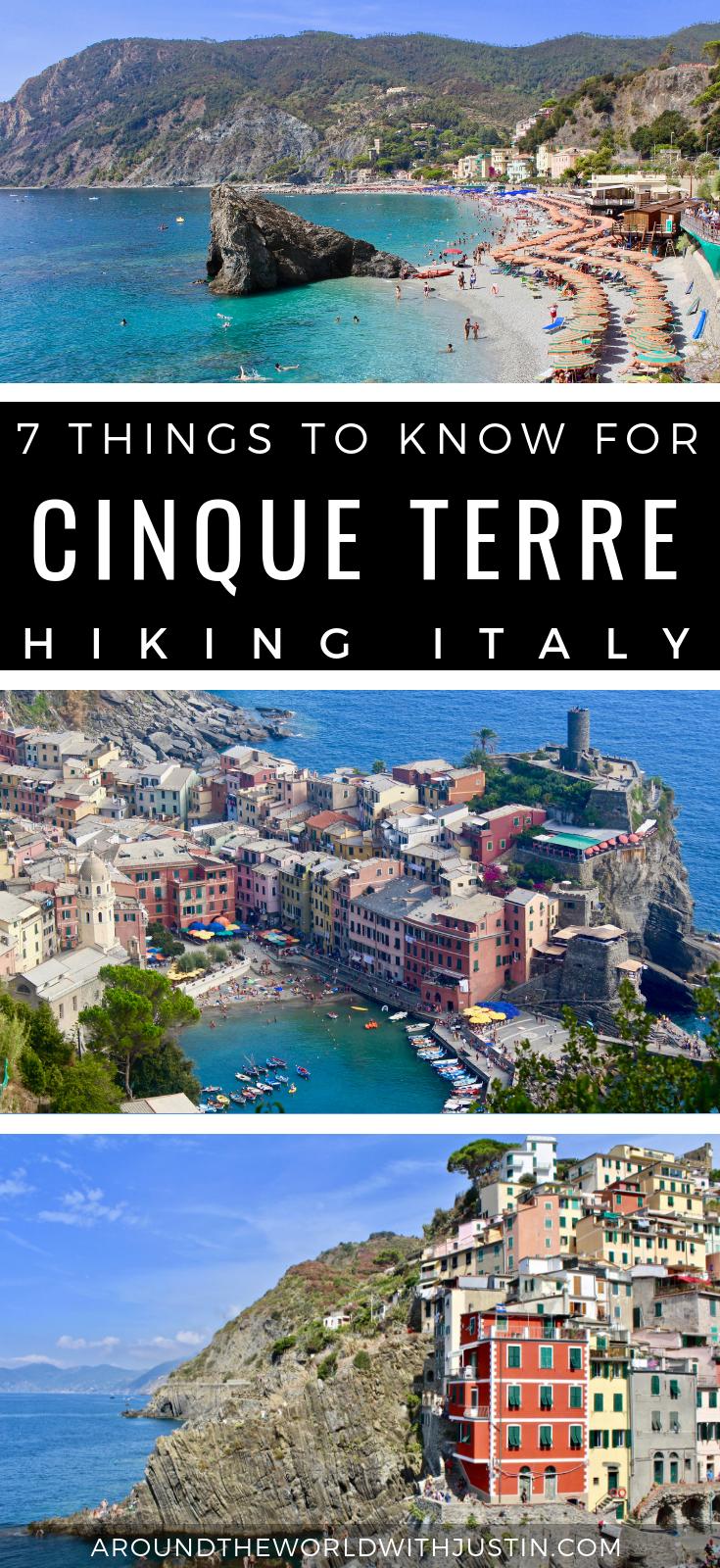 Hiking Cinque Terre Italy