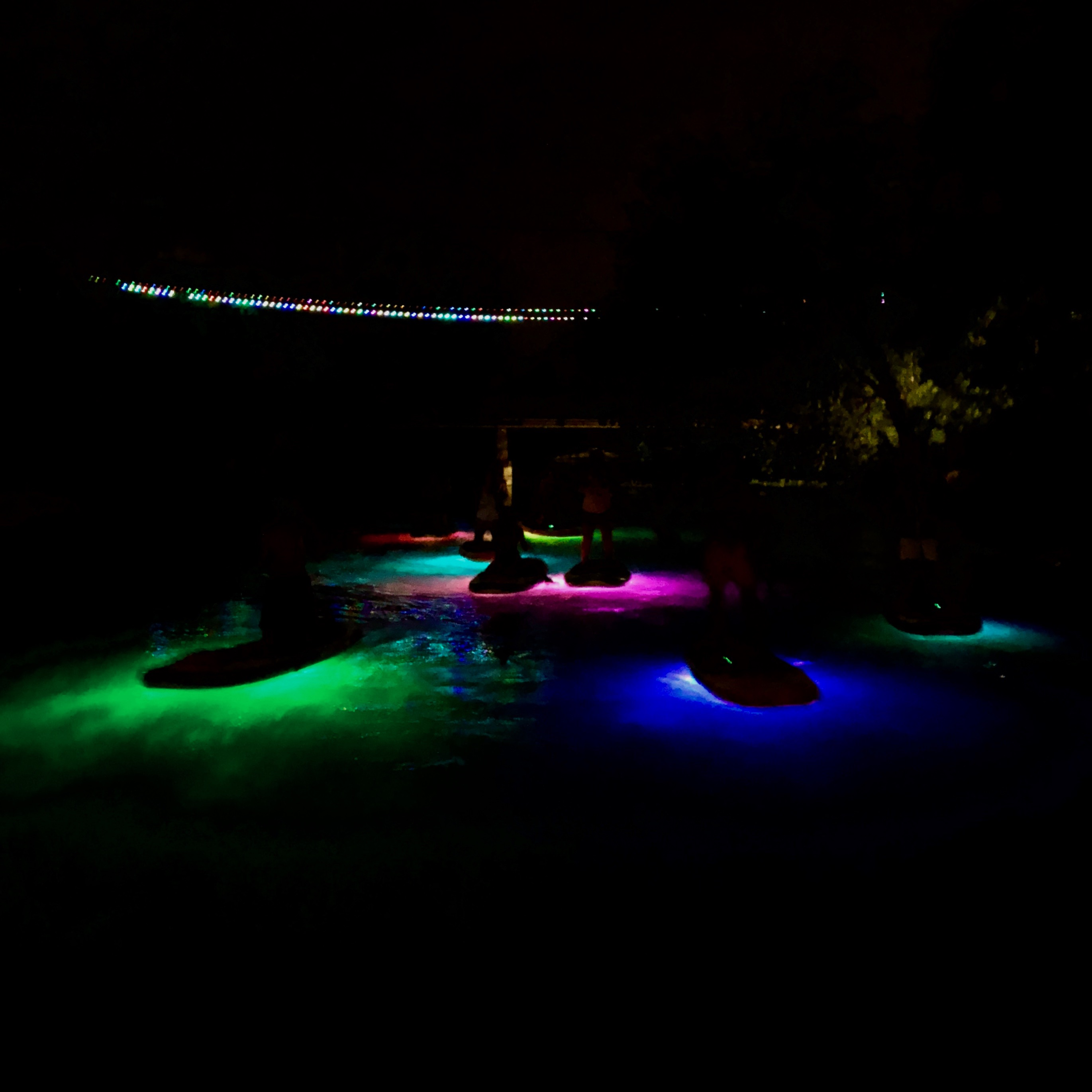San Marcos Texas Glow SUP Night Tour