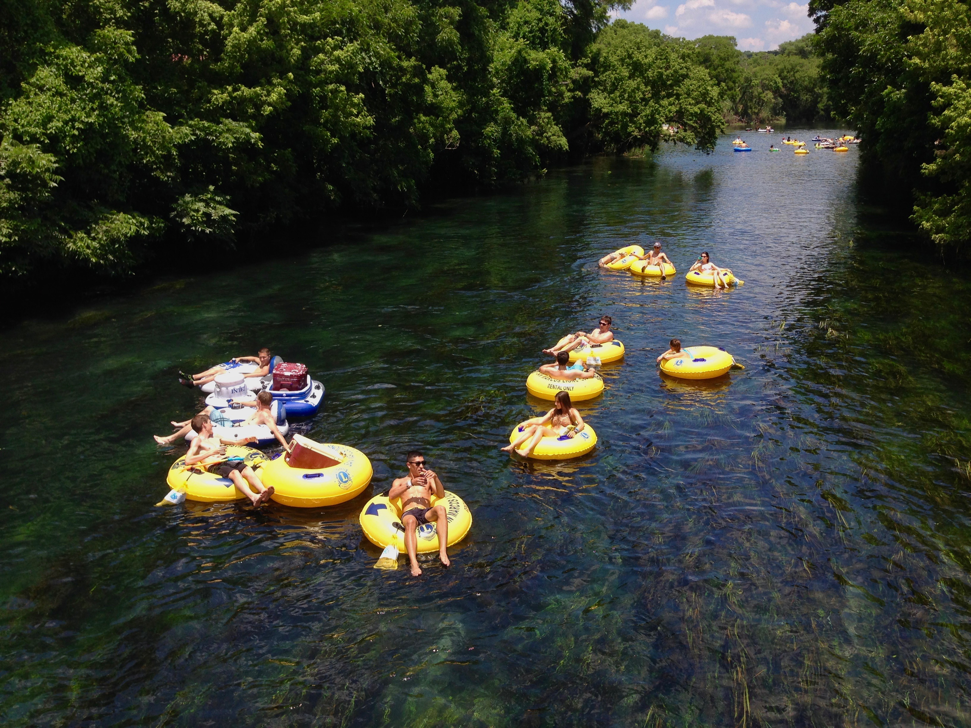 Things to do in San Marcos TX River Tubing Float Trip