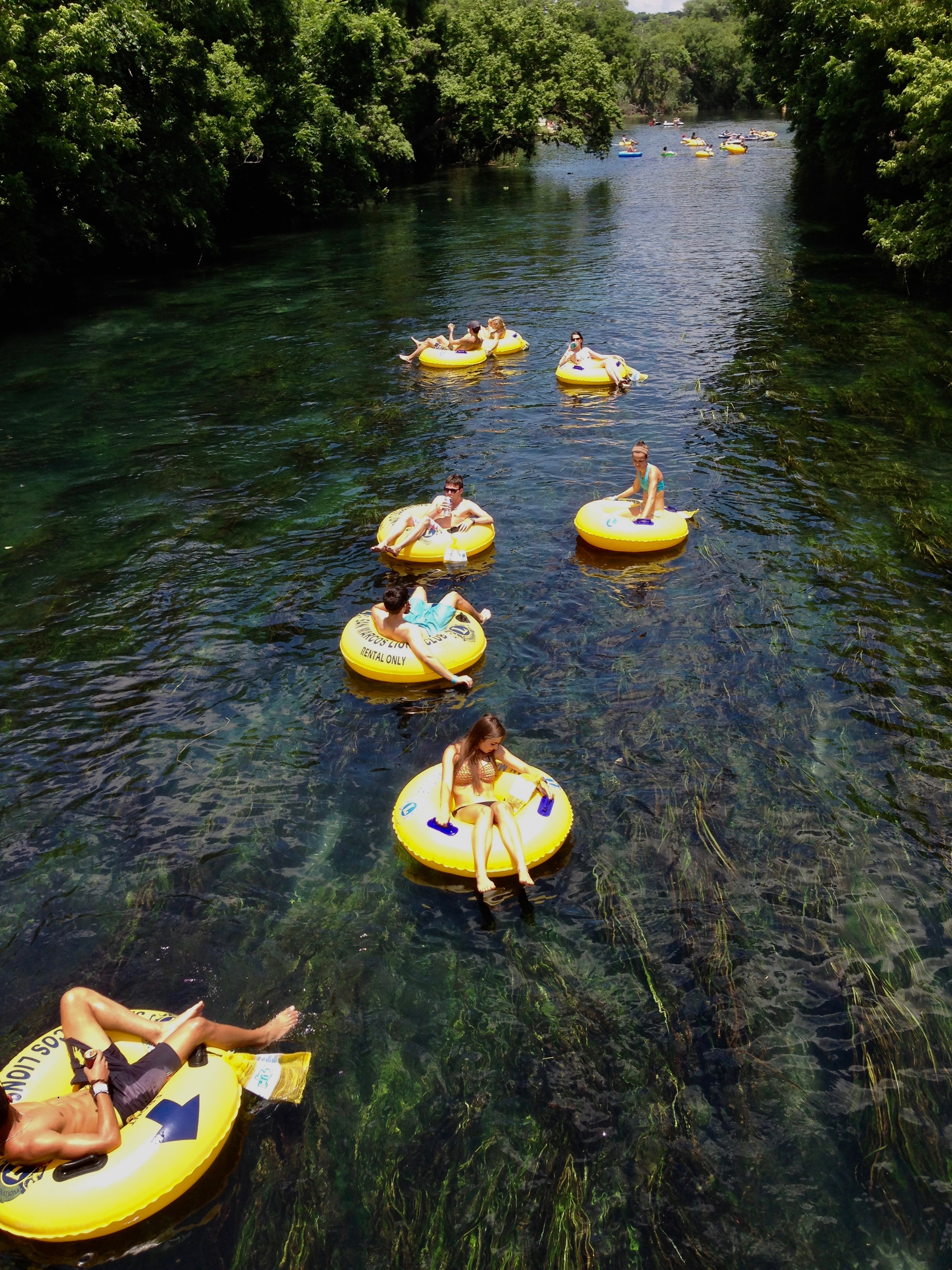 San Marcos Texas River Tubing Float Trip