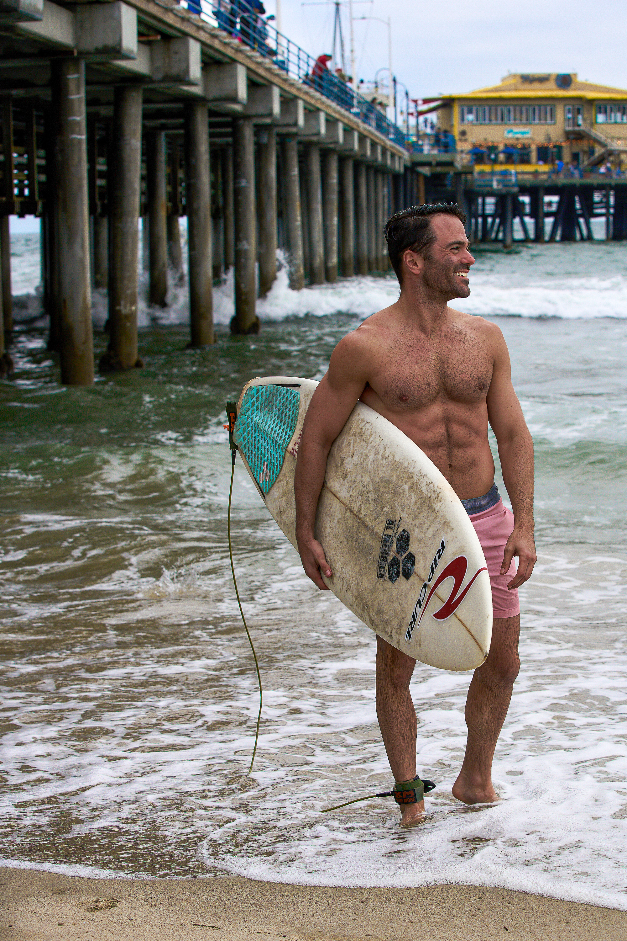Perfect Day in Santa Monica 5 hour ENERGY Justin Walter surfing