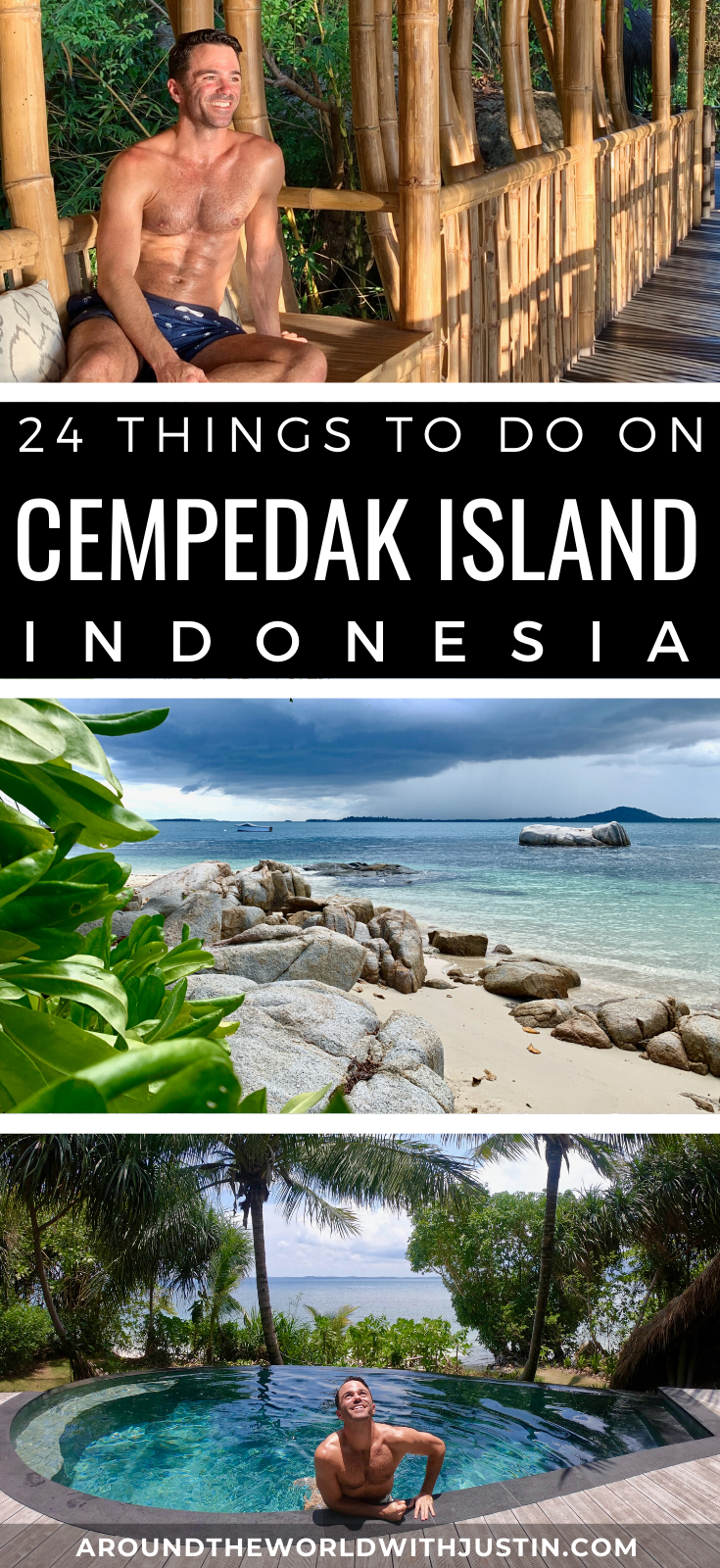 Cempedak Island Indonesia private resort