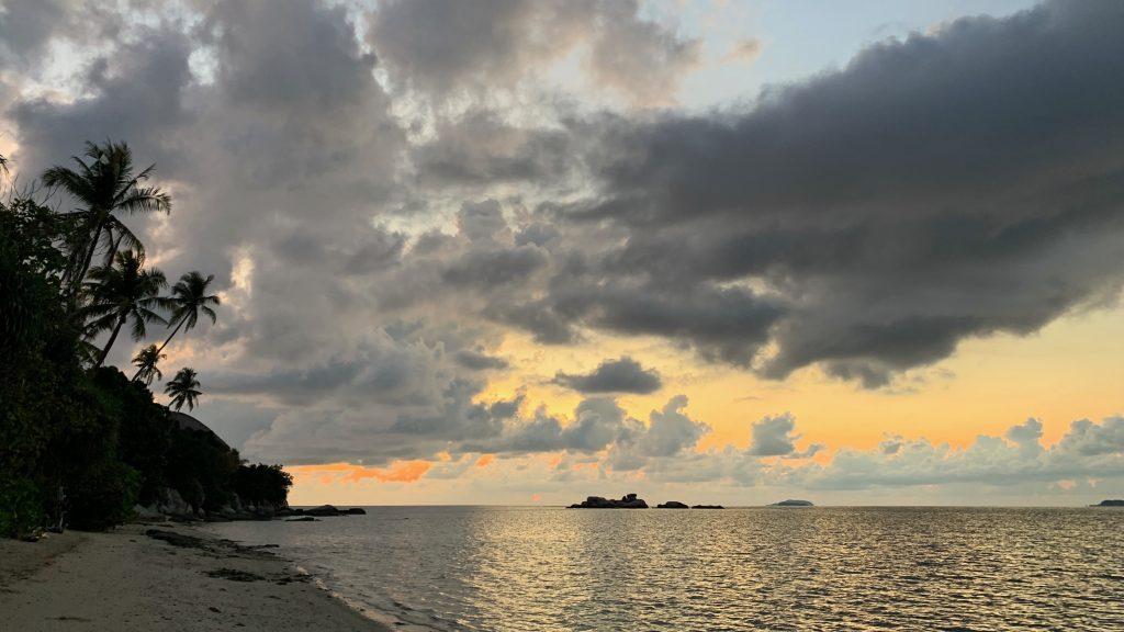 Cempedak Island Indonesia sunrise