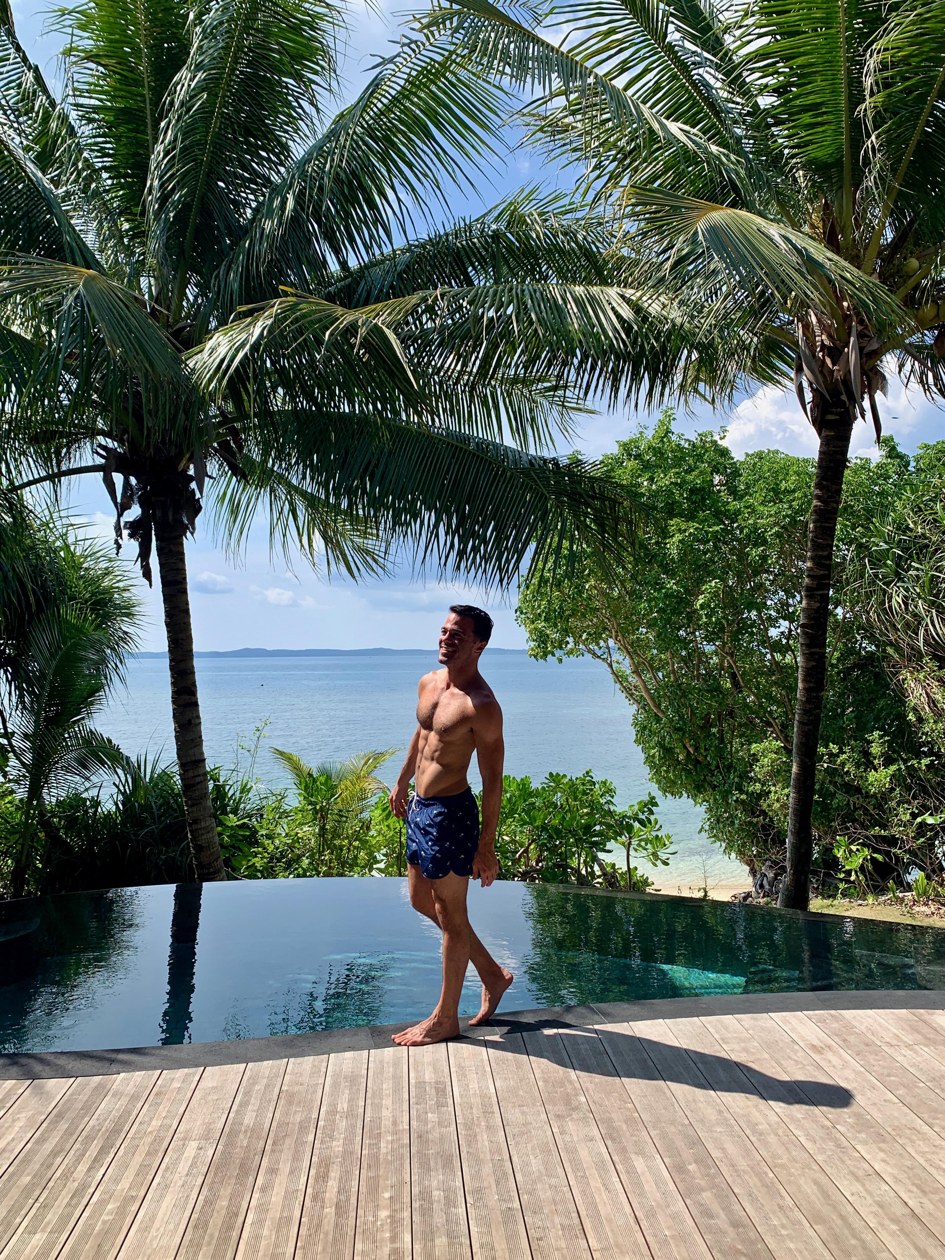 Cempedak Island Indonesia Singapore private island resort Justin Walter