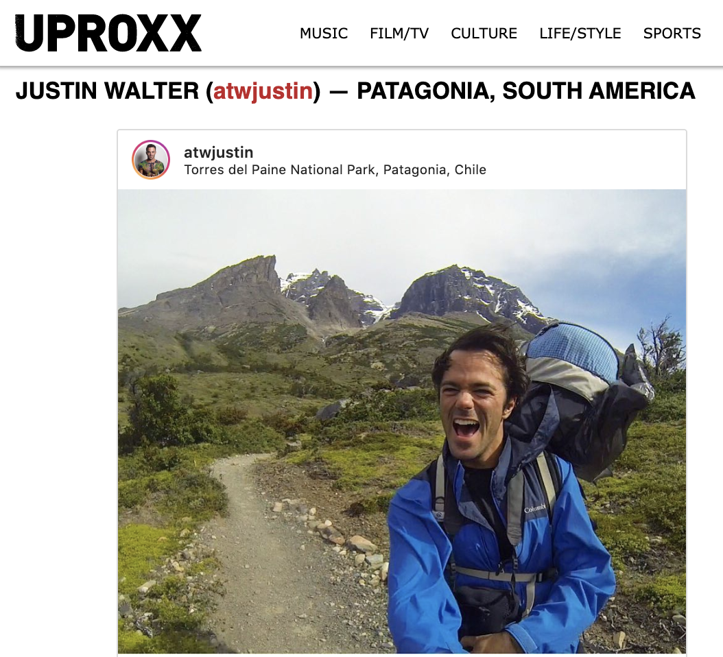 Uproxx Ultimate Fall 2019 Destinations Justin Walter
