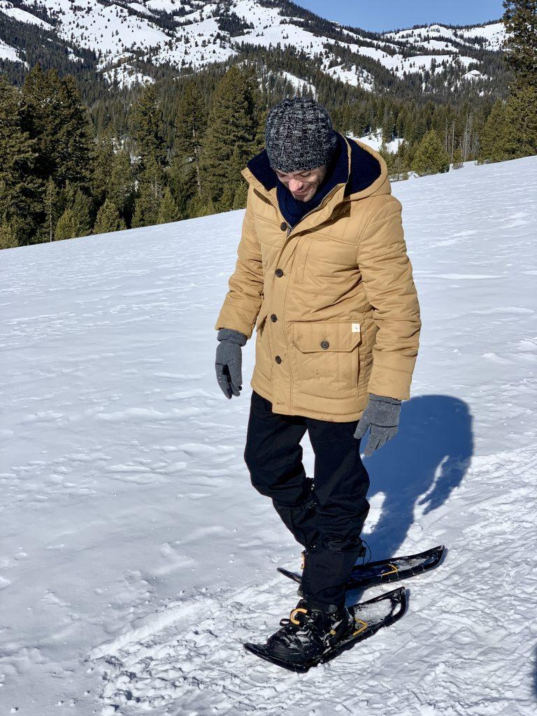 Sun Valley Idaho Galena Lodge snowshoeing Justin Walter