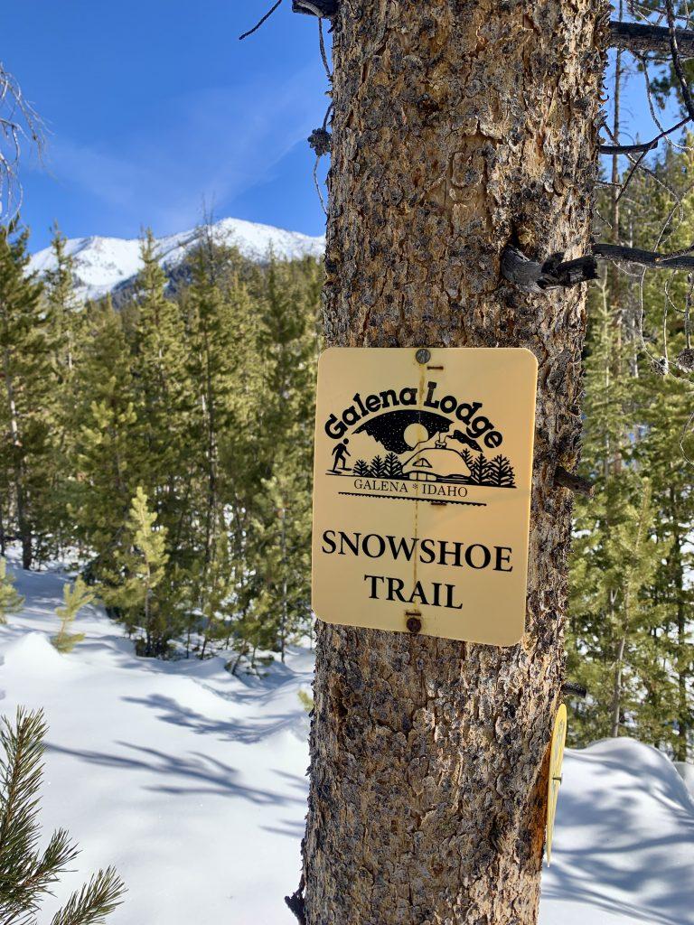 Sun Valley Idaho Galena Lodge snowshoeing