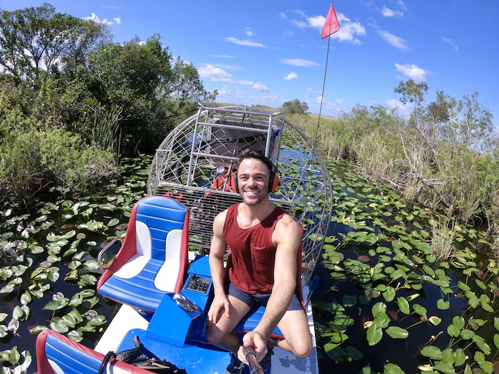 outdoor activities in miami everglades air boat tour justin walter