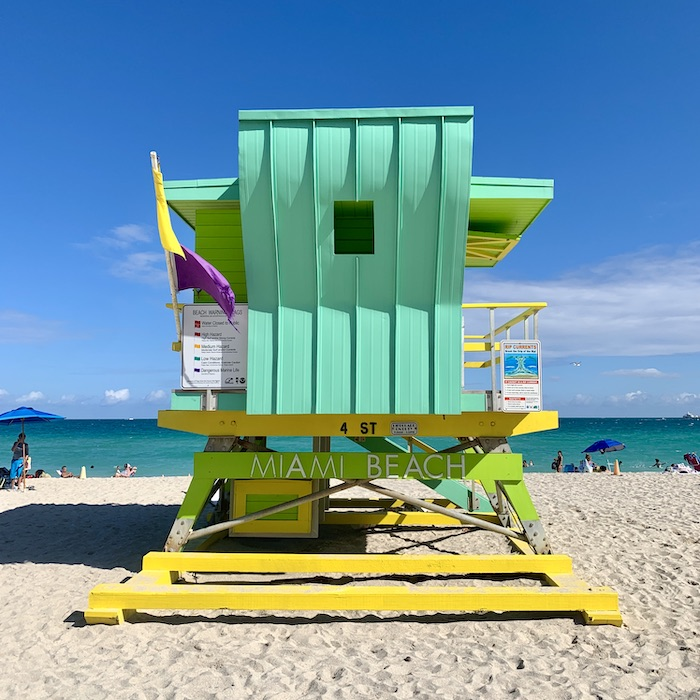 south beach miami lifeguard tower