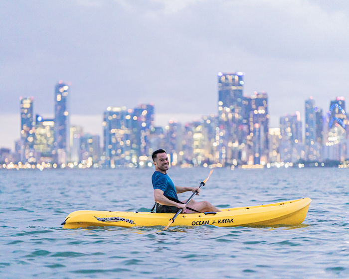 outdoor activities in miami kayaking