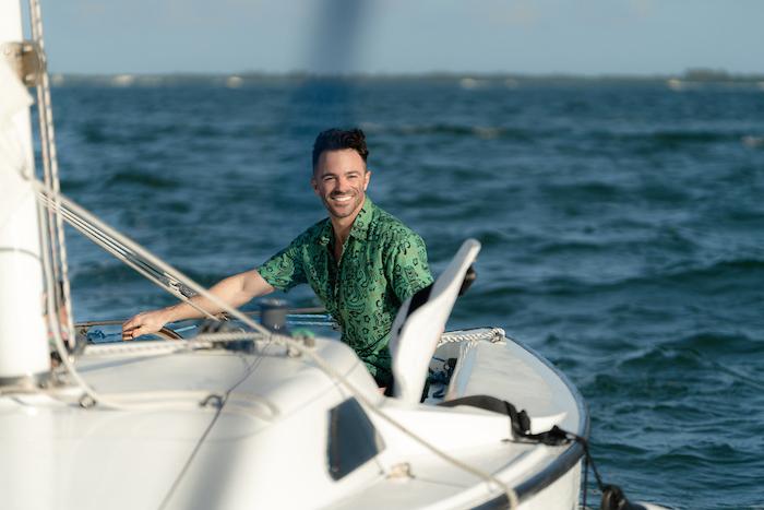 sailing coconut grove justin walter