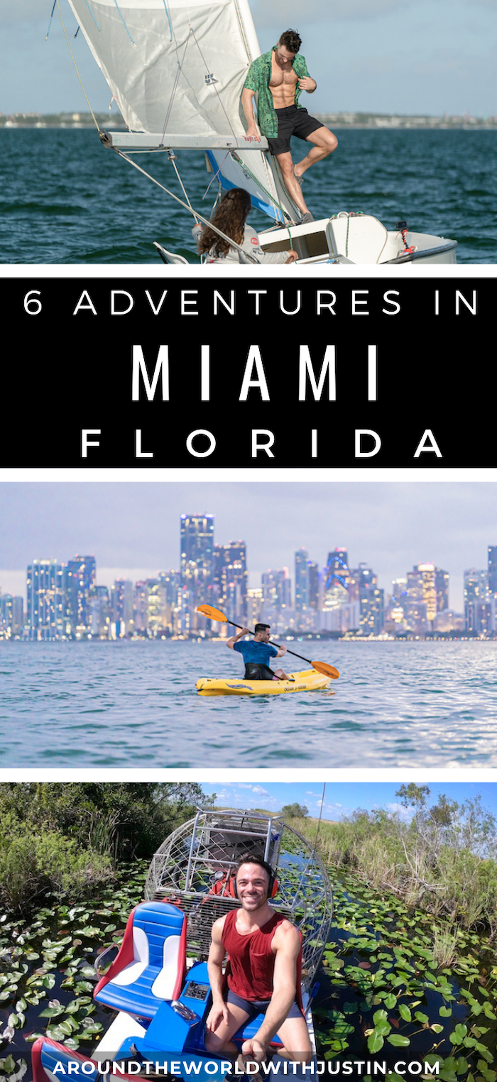 miami florida outdoor adventures kayaking sailing everglades airboat