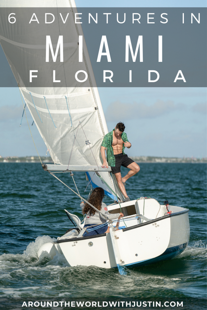 outdoor adventures miami florida sailing coconut grove