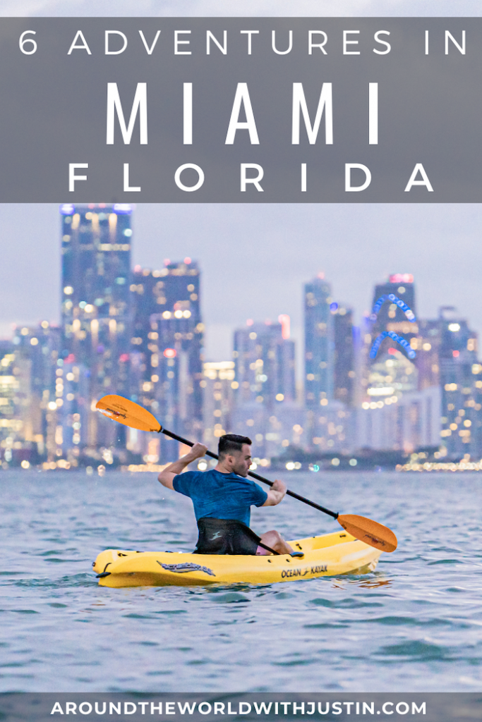 outdoor adventures miami florida kayaking