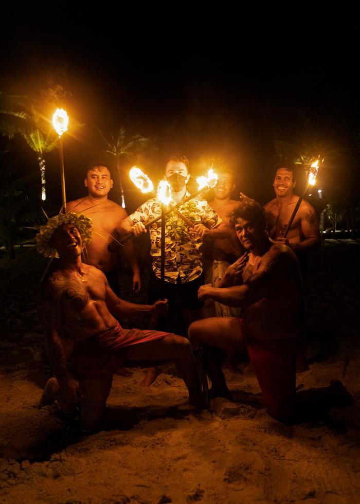 Polynesian show Bora Bora