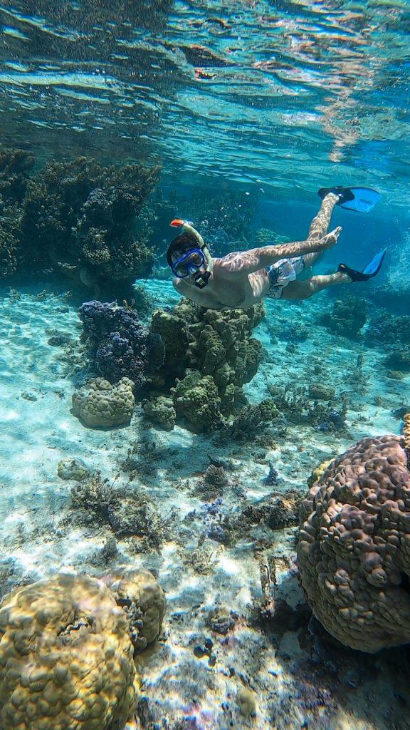 Islands of Tahiti snorkeling Bora Bora Justin Walter