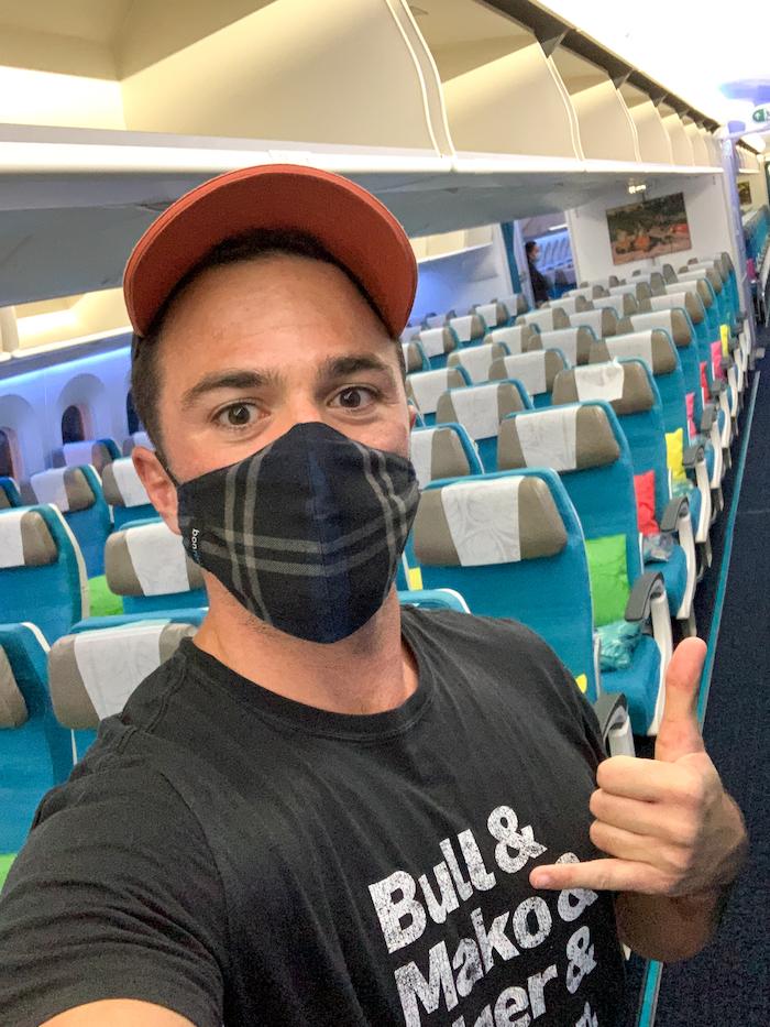Air Tahiti Nui bonrisu masks