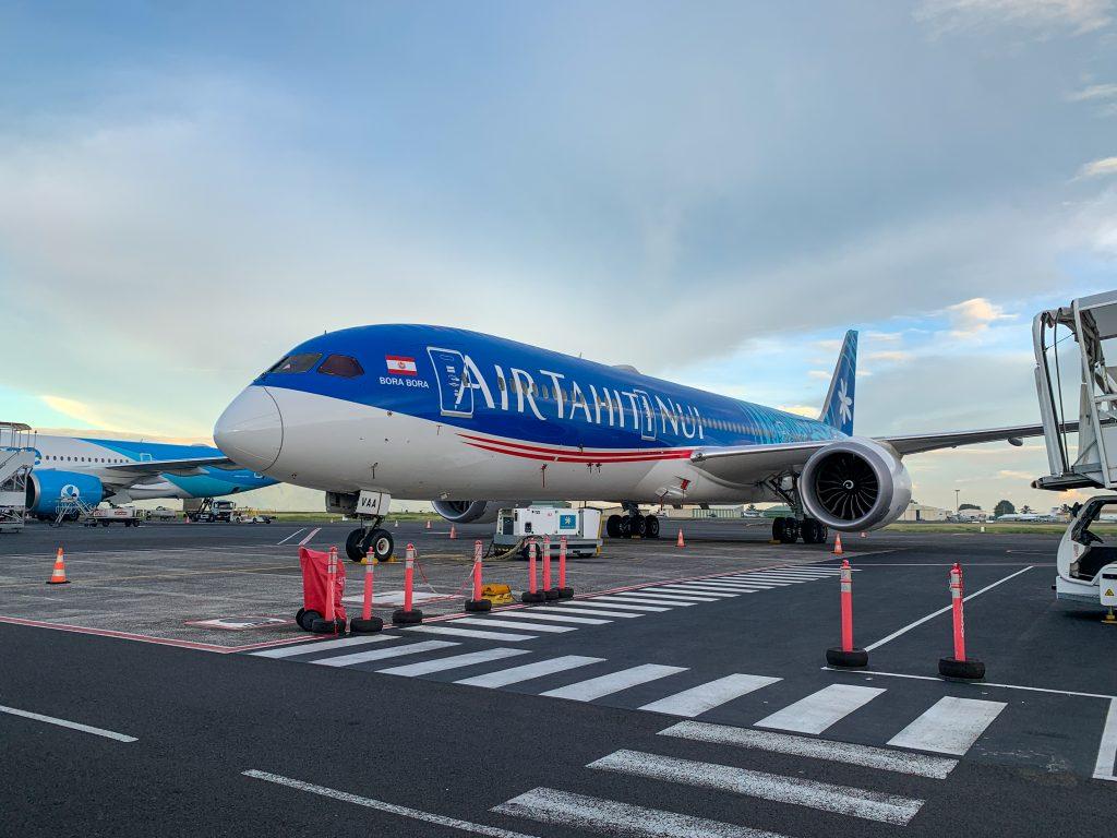 Air Tahiti Nui plane