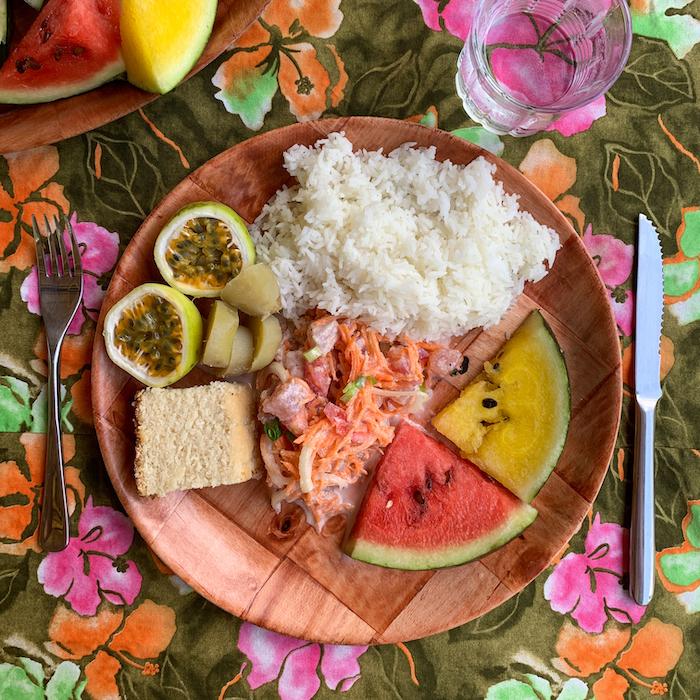 poisson cru tahiti's national dish